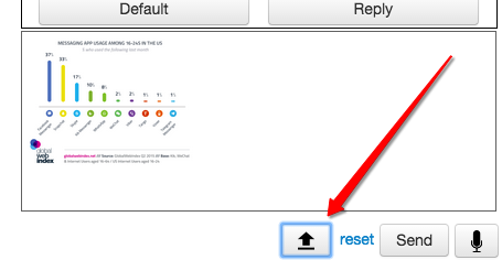Image Upload Button